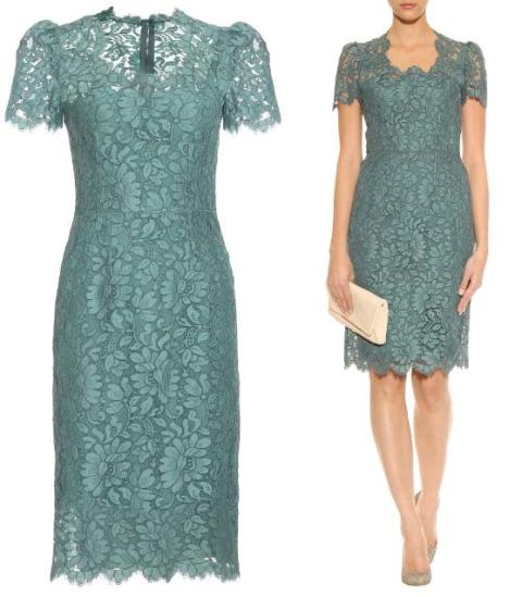 Dolce and Gabbana lace dress