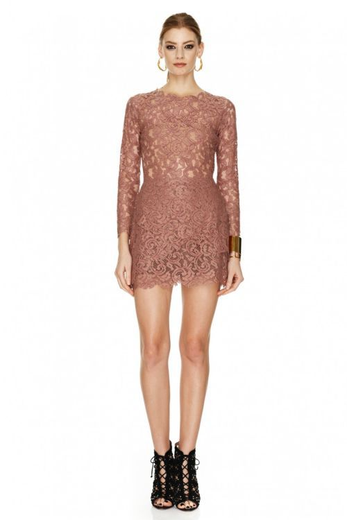short lace dress for New Years' Eve