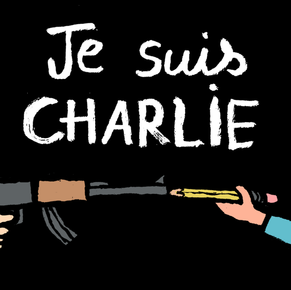 Charlie Hebdo Attacks drawings