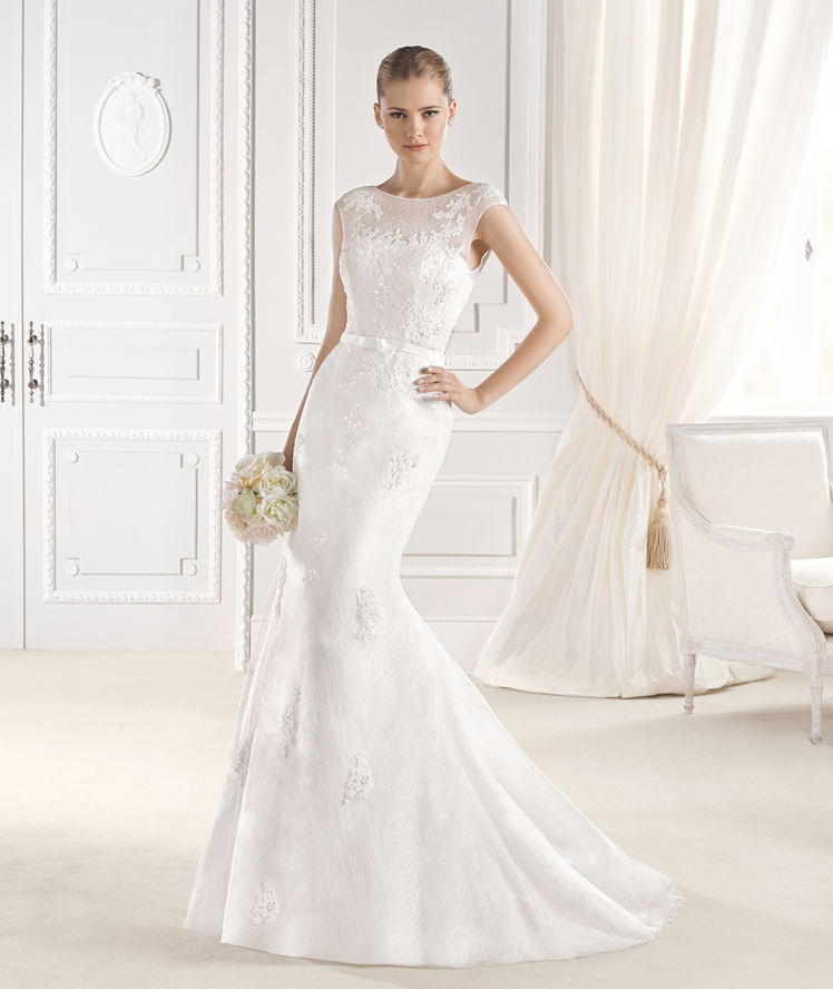 La Sposa A-line lace Wedding dress