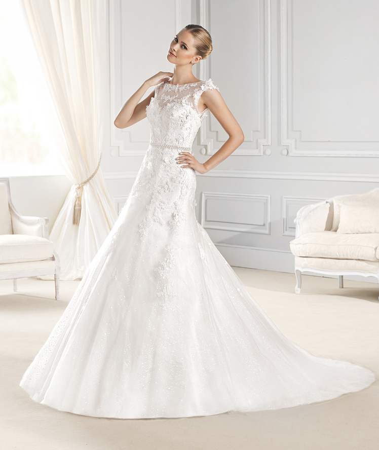 La Sposa - A-shape Lace wedding dress