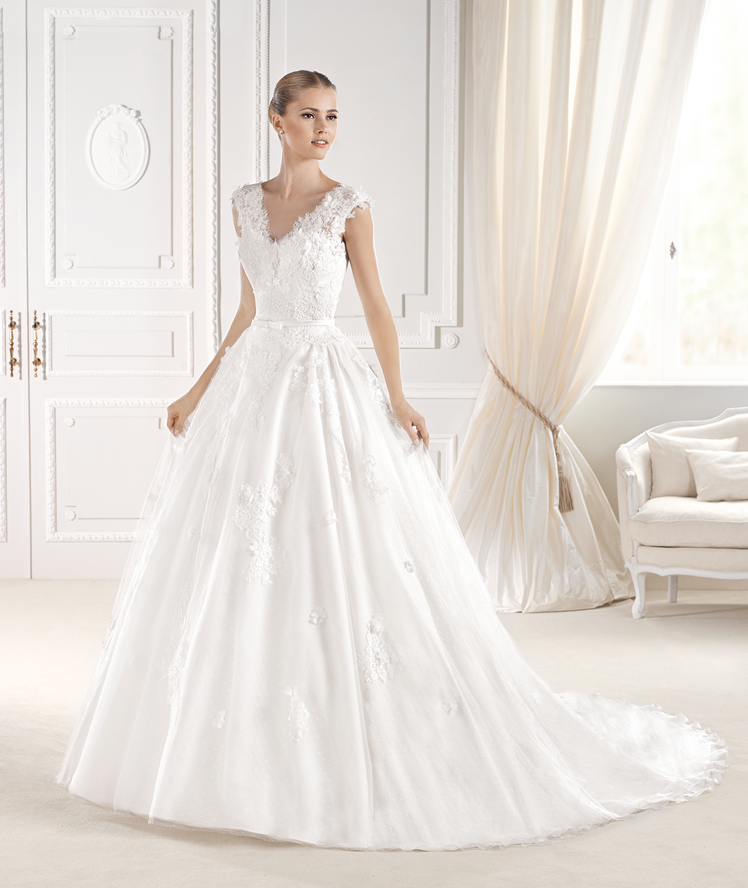 La Sposa- princess lace wedding dress
