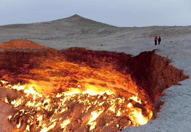 The Door to Hell,  Turkmenistan- exotic destination