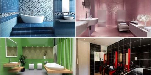 Modern bathroom interior designs