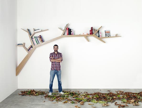branch bookcase shelve