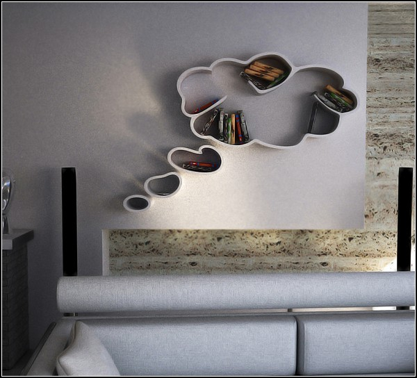 Cloud shape shelves