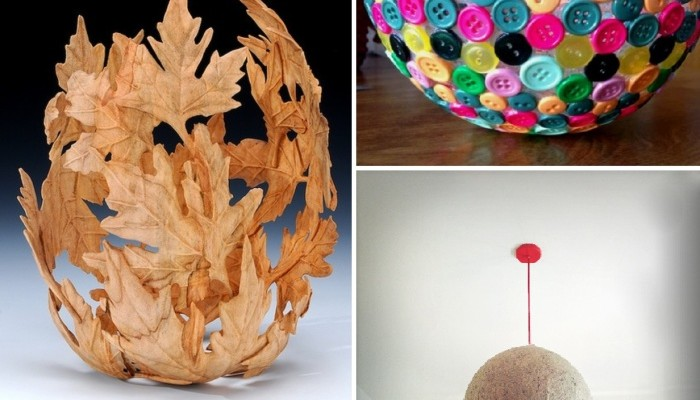 10 uses of balloons for handmade decorative items all on for Handmade things for home