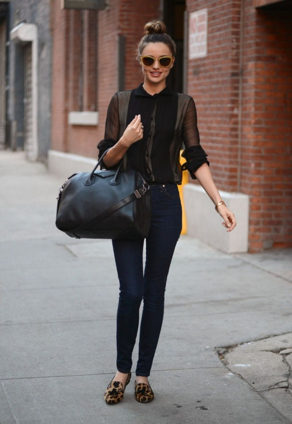 how to dress like miranda kerr