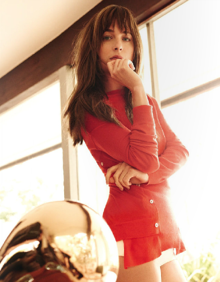 Dakota Johnson photos in Vogue