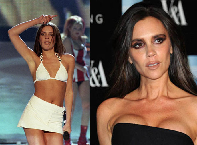 Victoria Beckham anorexic picture