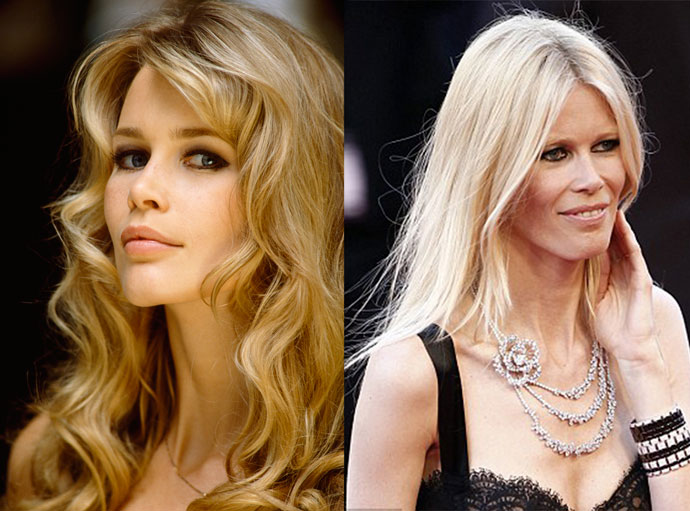 Claudia Schiffer anorexic pictures
