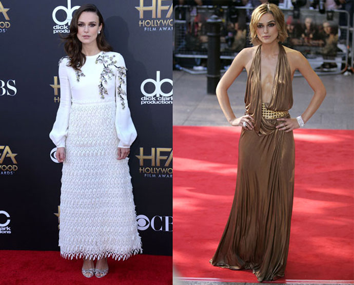 Keira Knightley anorexic pictures