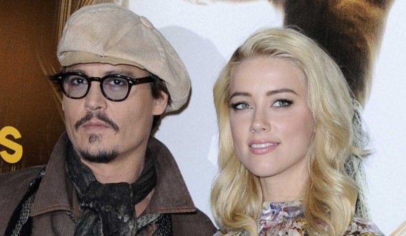 Johnny Deep and bisexual Amber Heard split