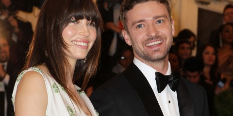 Justin Timberlake and Jessica Biel are parents