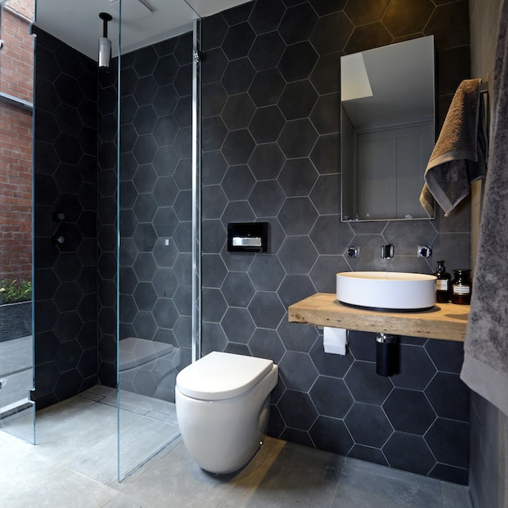 black-hexagonal-tiles-modern-bathroom