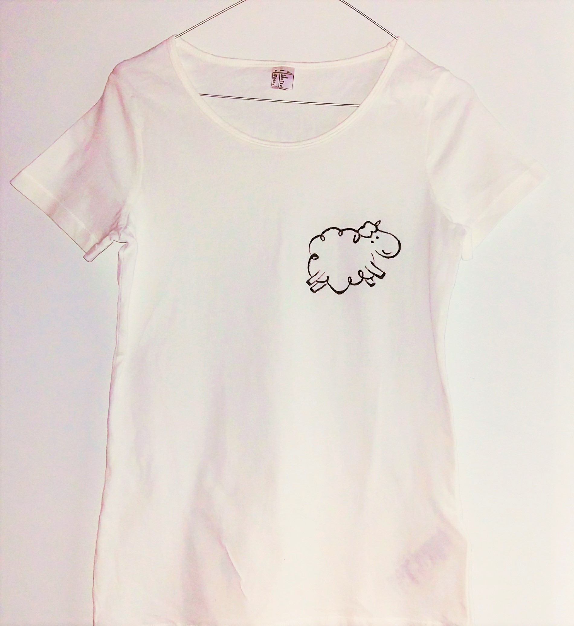 Handmade sheep t-shirt