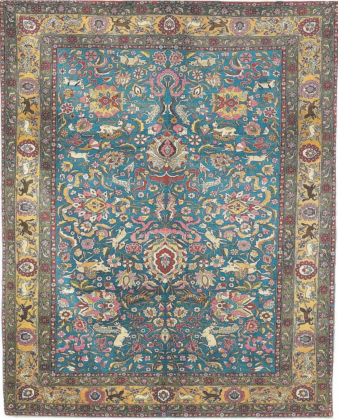 Oriental Tehran Rugs for traditional design