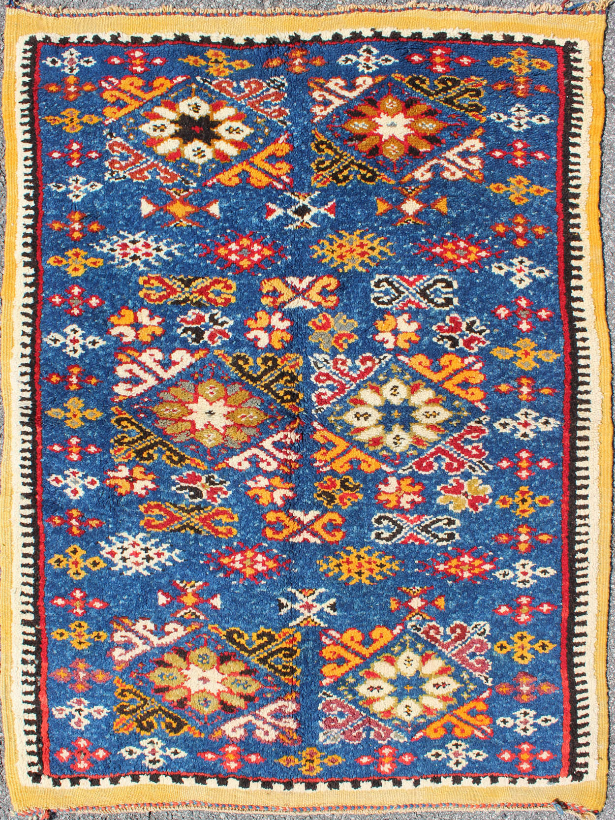 Vintage Wool Moroccan Rugs for modern houses
